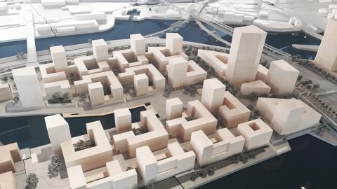 HafenCity Hamburg Elbbrückenquartier Hosoya Schaefer Architects