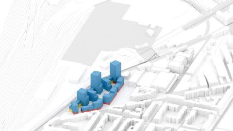 Hosoya Schaefer Architects Nordspitze Basel Migros Genossenschaft Phase 3